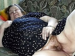 Old worn out grandmas pussy
